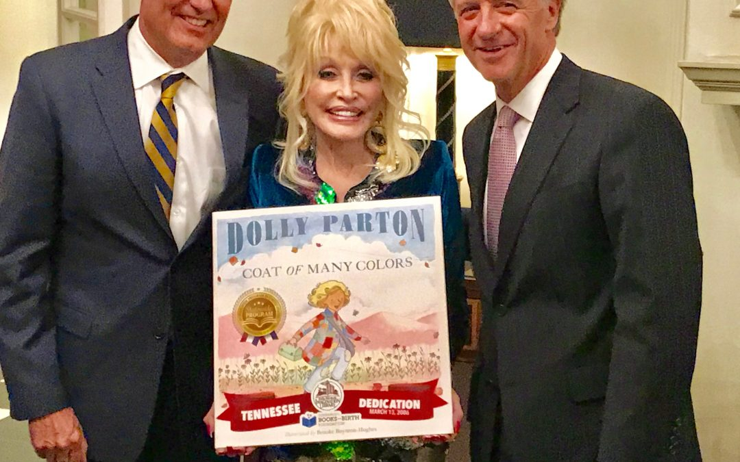 Dolly Parton Recognizes TN as 1st Statewide Imagination Library Program