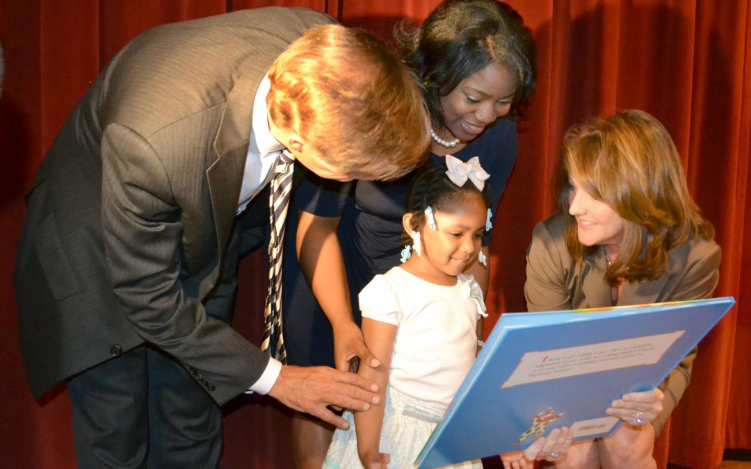 20 million and counting: Shelby County 3-year-old presented with 20 millionth Tennessee Imagination Library book