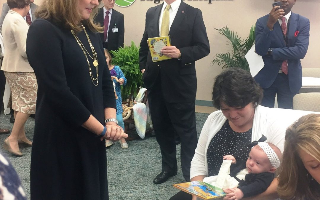 First Lady Haslam Celebrates New TN Imagination Library Partnerships at Two Green County Birthing Hospitals