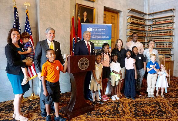Tennessee State Departments Celebrate Early Literacy Impacts of Tennessee's Imagination Library