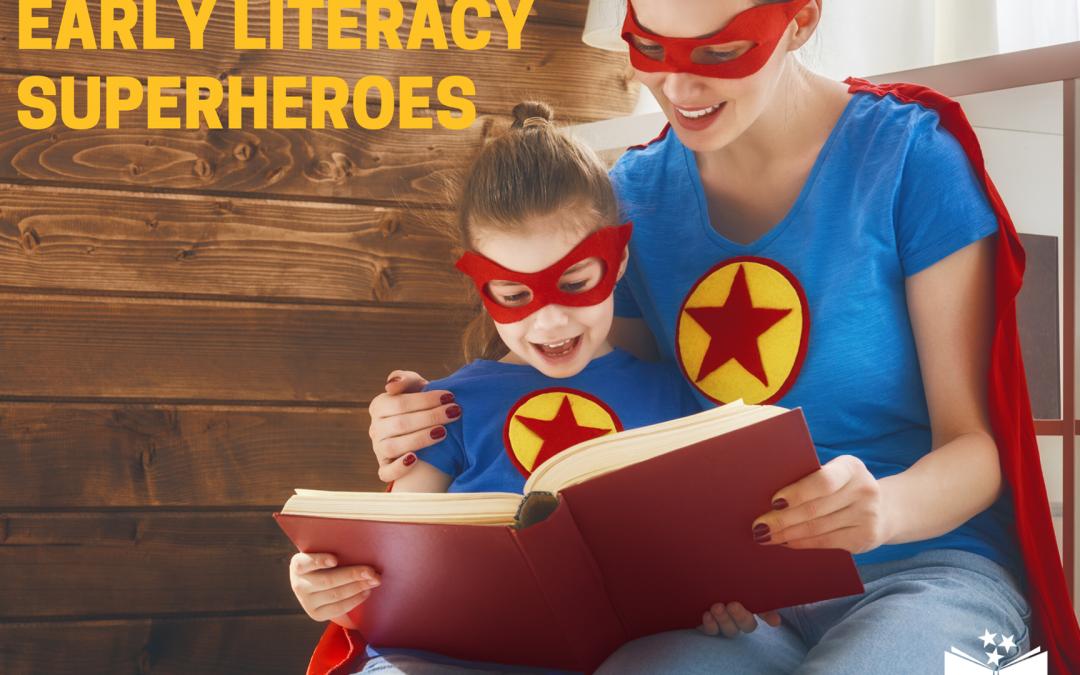 Nat'l Volunteer Week: Help Us Celebrate Our Early Literacy Superheroes!