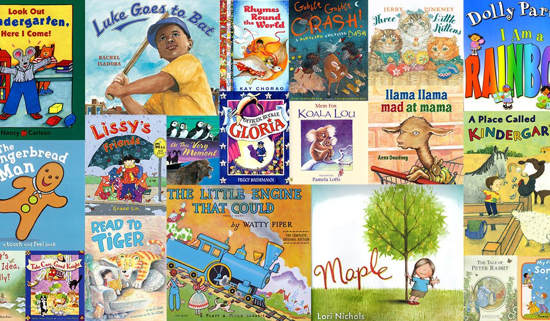 List of Imagination Library Books By Age Group