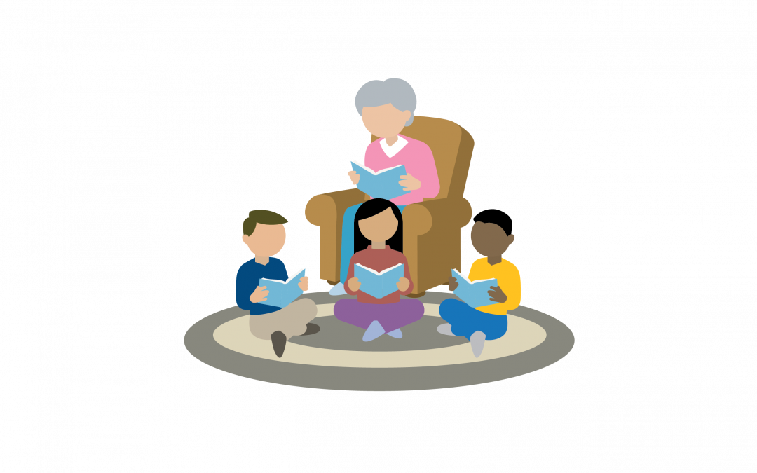 K-3 Family Reading Time at Home Guides